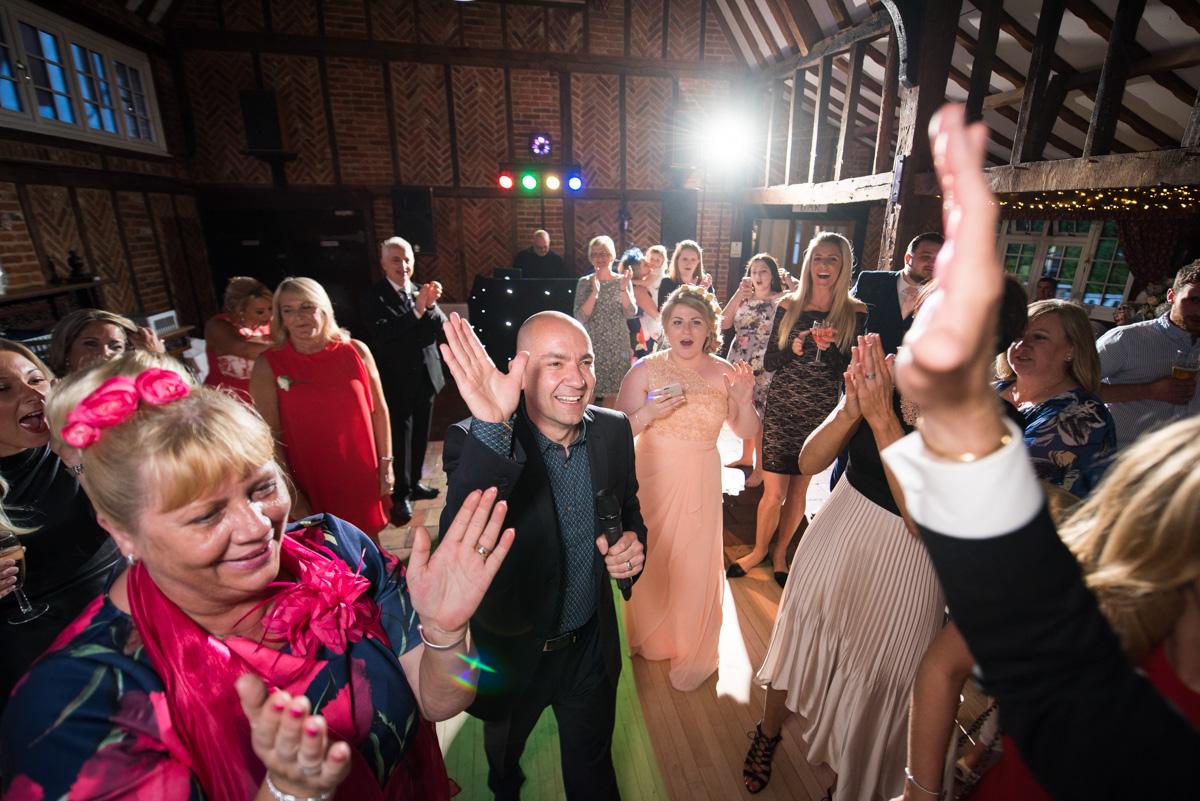 Ye Olde Plough House Wedding - Karen & Dave -67