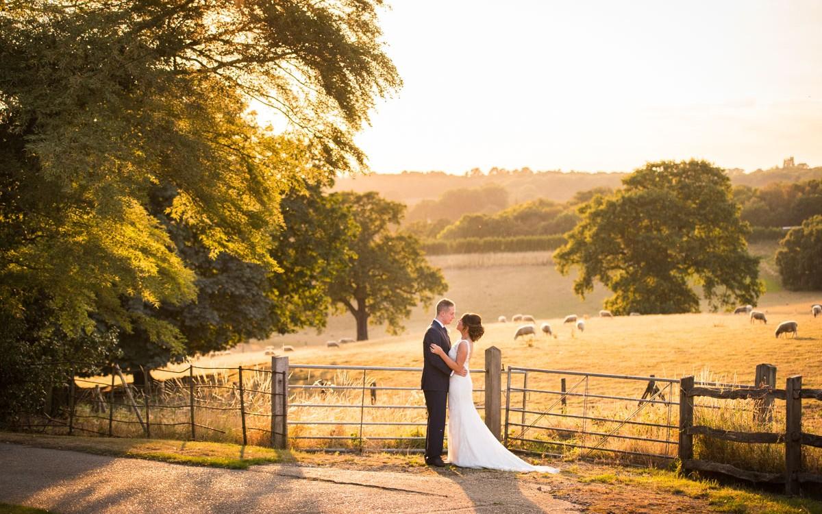 Gaynes Park Wedding Photography - Theresa & Laurence
