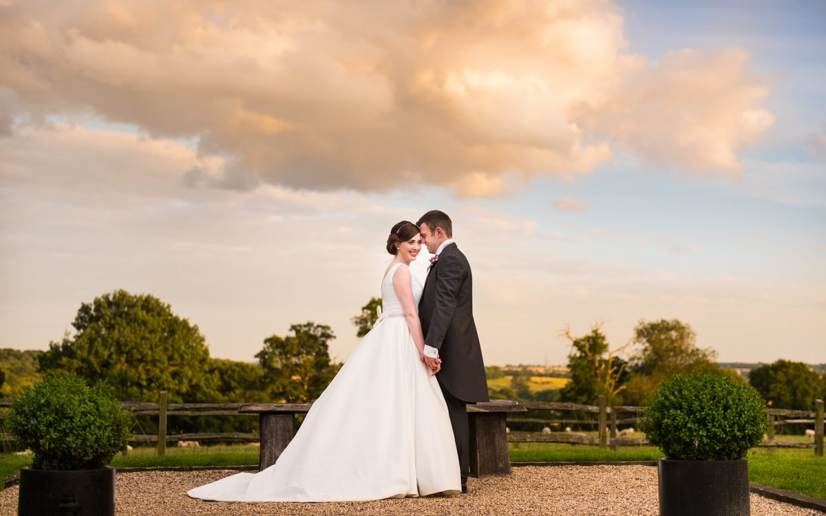Gaynes Park Wedding Photos, Epping - Laura & James