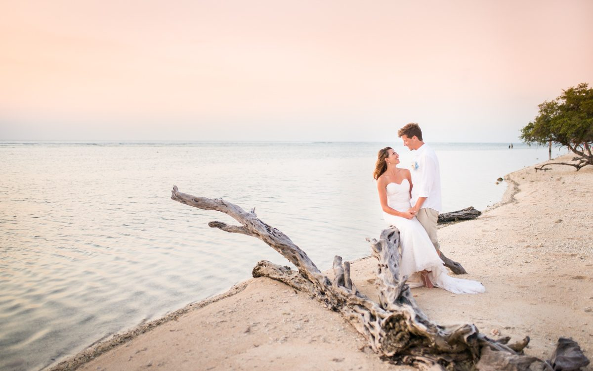 A wedding on Gili T, Bali - James & Belinda